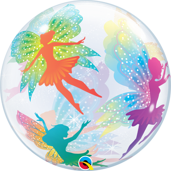 """22""""Q Bubble, Magical Fairies and Sparkles (1 count)"""
