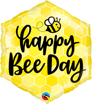 "20""Q Happy Bee Day (5 count)"