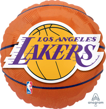 "18""A Basketball NBA L.A. Lakers (5 count)"