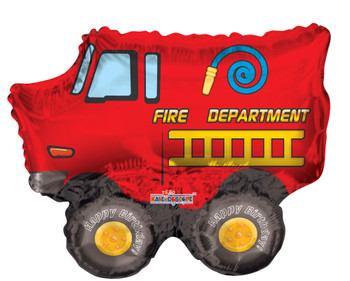 "14""K Fire Truck (10 count)"