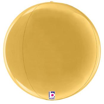 "16""B Globe Dimensionals Gold Pkg (5 count)"