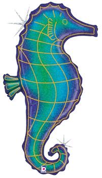 "36""B Seahorse Holographic Pkg (5 count)"