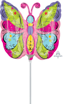 """14""""A Butterfly Whimsical (10 count)"""