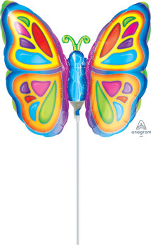"14""A Butterfly Bright (10 count)"