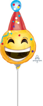 "9""A Happy Birthday Emoticons (10 count)"