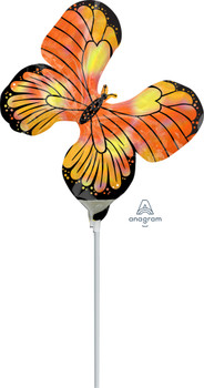 """12""""A Butterfly Iridescent Holograph Monarch (10 count)"""