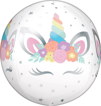 "16""A Unicorn Party Orbz (5 count)"