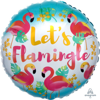 "18""A Let's Flamingle (5 count)"