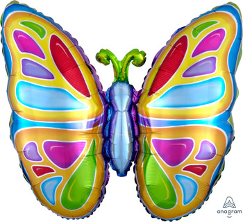 """25""""A Butterfly Bright Pkg (5 count)"""