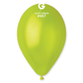 "12""G Metallic Light Green #067 (50 count)"
