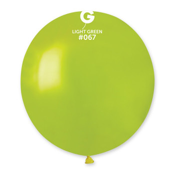 "19""G Metallic Light Green #067 (25 count)"