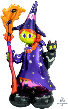 """55""""A Airloonz Halloween Scary Witch  (1 count)"""