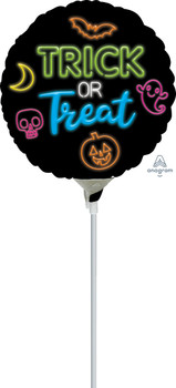 "9""A Halloween Neon Trick or Treat (10 count)"