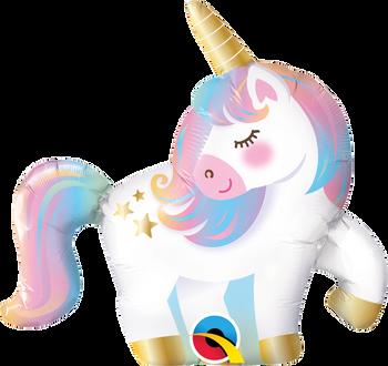 """14""""Q Unicorn Mini (10 count)"""