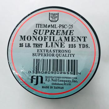 Monofilament Supreme 25 lb