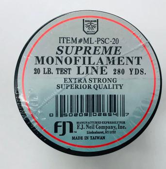 Monofilament Supreme 20 lb