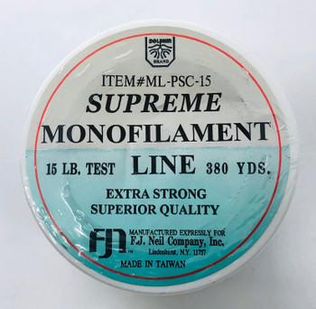 Monofilament Supreme 15 lb