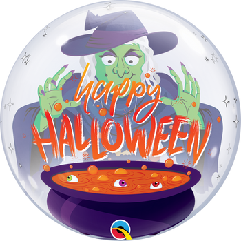 "22""Q Bubble Halloween Witch's Brew (1 count)"