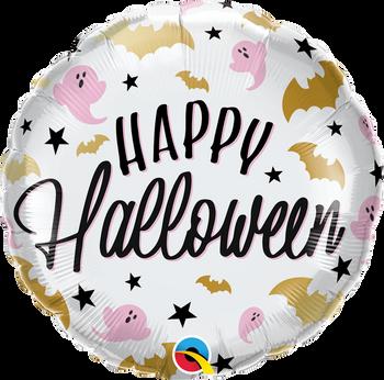 "18""Q Halloween Glam Bats & Ghosts (5 count)"