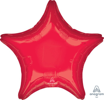 "28""A Star, Red (5 count)"