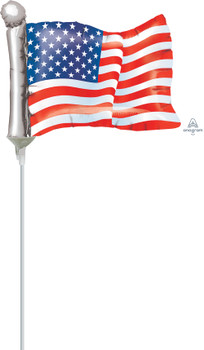 "14""A American Flag (10 count)"