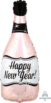 "26""A Happy New Year Champagne Bottle (5 count)"