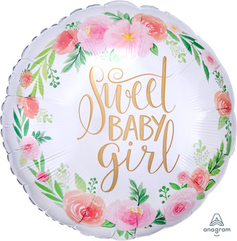"18""A Sweet Baby Girl, Satin Luxe (5 count)"