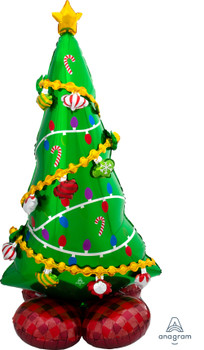 """59""""A Airloonz Christmas Tree (1 count)"""