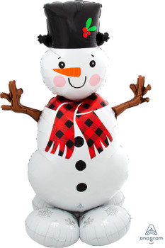 "55""A Airloonz Snowman (1 count)"