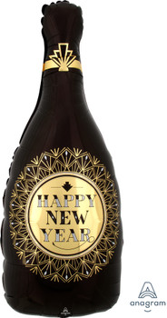 "36""A Happy New Year Roaring 20's Bottle (5 count)"