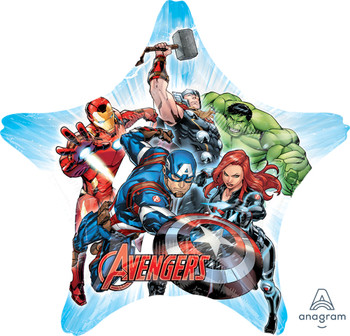 "32""A Avengers, Animated Star (5 count)"