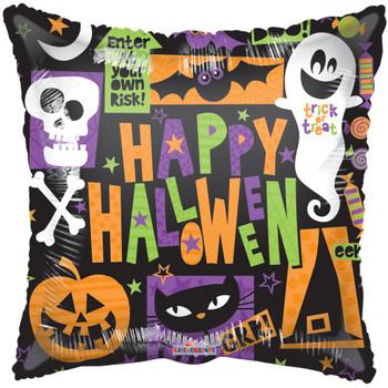 """9""""K Halloween Motifs (10 count)"""