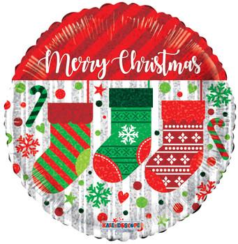 """9""""K Christmas, Socks Hol (10 count)"""