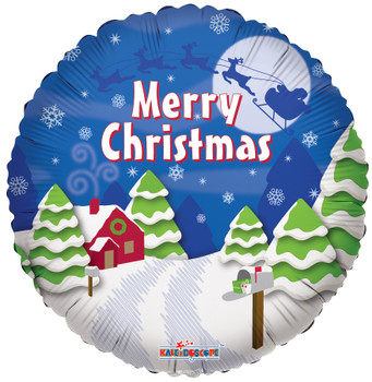 "9""K Christmas, Santa's Sleigh (10 count)"