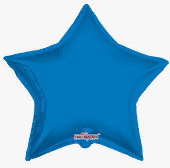 "36""K Star Royal Blue (5 count)"