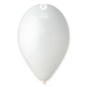 "12""G Maxi Bag White #001 (500 count)"
