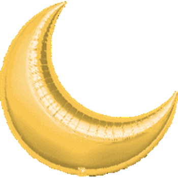 "10""A Crescent Moon Gold (5 count)"