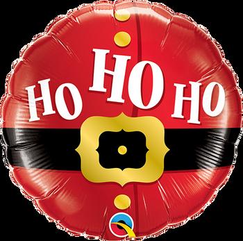 "9""Q Ho Ho Santa Belt (10 count)"