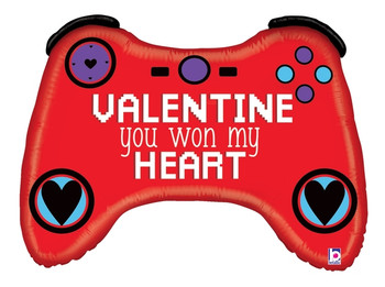 """34""""B Game Controller, Valentine You Won My Heart (1 count)"""