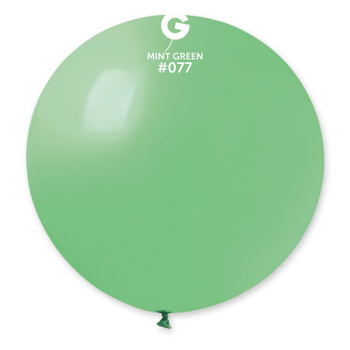 "31""G Mint Green #077 (2 count)"