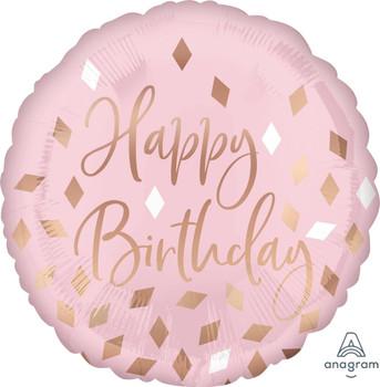 "18""A Happy Birthday Blush (5 count)"