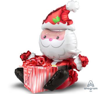 "21""A Christmas, Sitting Santa (1 count)"
