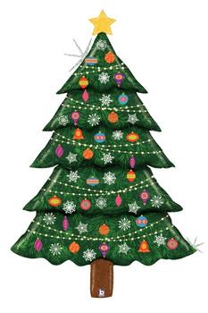 "60""B Christmas Tree Glitter (1 count)"