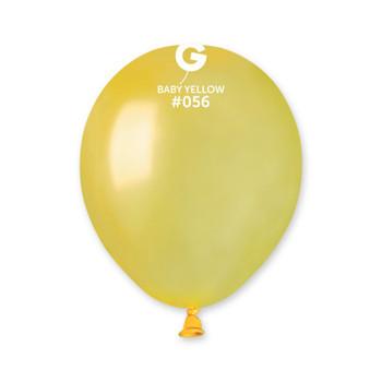 """5""""G Metallic Mustard #056 (Met. Baby Yellow) (100 count)"""