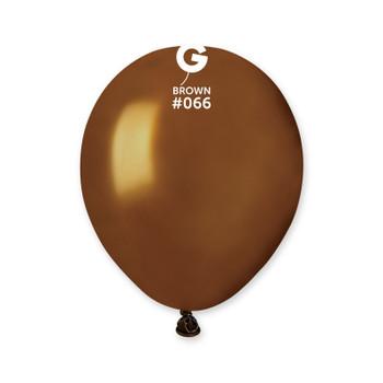 """5""""G Brown Metallic #066 (100 count)"""