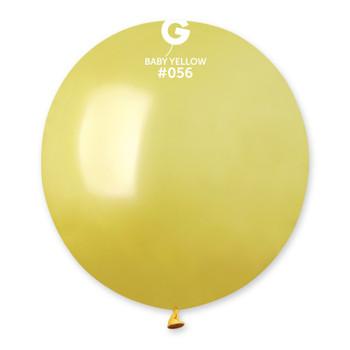 """19""""G Metallic Mustard #056 (Baby Yellow) (25 count)"""