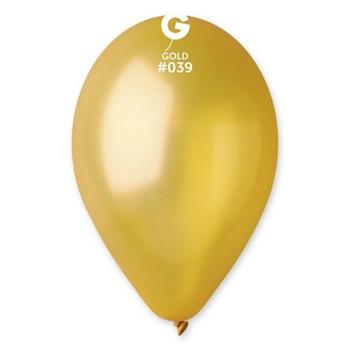 """12""""G Maxi Bag Metallic Gold #039 (500 count)"""