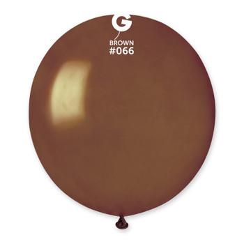 """19""""G Metallic Brown #056 (25 count)"""