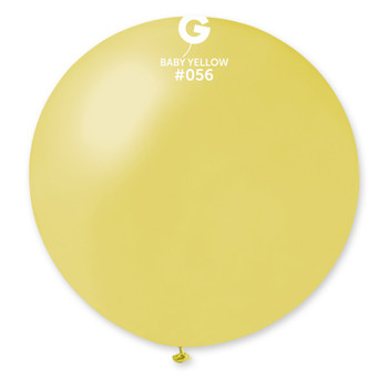 "31""G Metallic Mustard #056 (Baby Yellow) (1 count)"