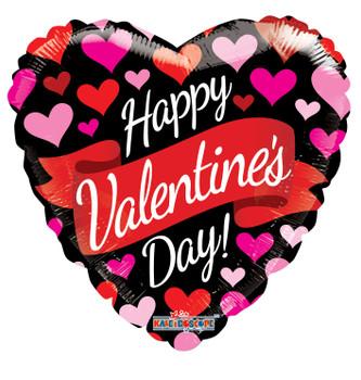 "9""K Happy Valentine's Day Banner & Hearts (10 count)"